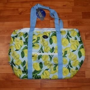 """Cynthia Rowley 24"""" Two-Section INSULATED COOLER"""
